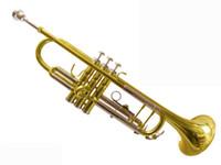 Wholesale Hot HTR SL trumpet three tone trumpet Bach trumpet double color trumpet factory direct sale