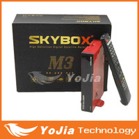 Wholesale Original Skybox M3 pi Full HD Satellite Receiver with Sharp Tuner support USB Wifi