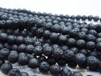Wholesale 4mm volcano stone beads strands strand protective volcano gemstone loose beads