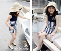 Wholesale children clothes gril dress fashion dress clothes