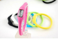 Wholesale Waterproof Watch Wrist Sport Digital LED Watches ATM Silicone Watch