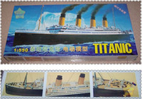 Wholesale Children s day gift MiniHobby TITANIC ship model with electric motor light NIB