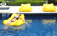 Wholesale cost extra large floating beanbag cover summer swimming beanbag