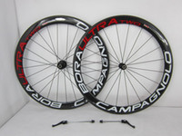 Wholesale Full sizes Top Campagnolo Bora Ultra Two Tubular Clincher carbon bicycle wheels Wheelset and hubs