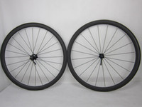 Wholesale Tubular Clincher Wheelset K Full Carbon Road Bike Bicycle C wheel set assembled Rims full sizes