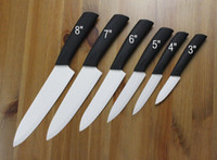Wholesale PROMOTION Chef Kitchen Cutlery White Advanced Ceramic knives Set quot quot quot quot