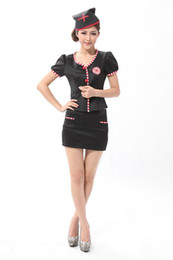 Wholesale Sexy Nurse Costume Sexy Costume with Headwear Cosplay Uniform Sexy Costume Cosplay Black White