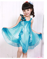 Wholesale Children dress girls condole belt skirt princess skirt