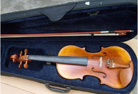 Wholesale MUSECON hand crafted violins Quality super with case