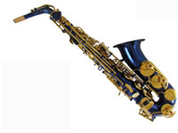 Wholesale best HY LJ drop the alto saxophone blue E body JinJian distinction to spend all factory direct s