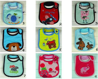 Wholesale 150pcs Baby bibs Bib Baby bibs Toddler Bib Infant bibs Apron Baby pinny pinafore Smock Sold dd