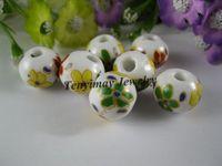 Wholesale Ceramic Beads mm Flower Style