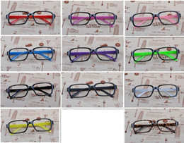 Wholesale colors rivet glasses frame Plain glass spectacles protective glasses By EMS
