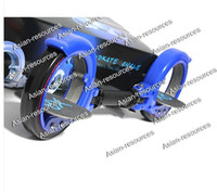 Wholesale 2012 New X8 Skate Board Cycle BLUE Free Ride Kick Scooter