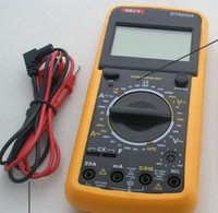 Wholesale Digital Multimeter Meter Ammeter Voltmeter Tool BEST DT9205A