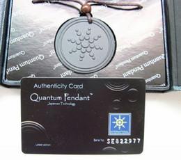 Wholesale Energy Quantum Science Scalar Lava Energy Pendant With Product Registration Card SP a