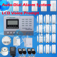 broken glass - LCD Voice Prompt Wireless Burglar Alarm System With Magnetic Motion Smoke Gas Glass Break Sensor SA
