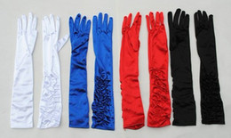Wholesale Dancing Costume Long Gloves Stage Gloves Bride s Gloves D82