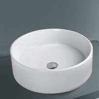Professional Ceramic Round Bathroom Basin - Above Counter Mo...