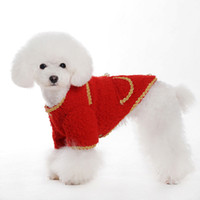 Pet Coat with Modern Style Blue& Red Colors