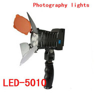 Wholesale Wedding photography light video light fill light with a color film news interview lamp LED