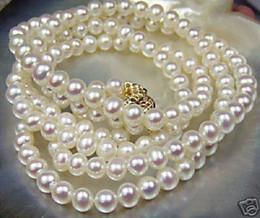 Wholesale Rare salt water Pearl Necklace quot