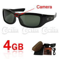 Wholesale hidden camera dvr video recorder Spy Sunglasses Detachable Earphone MP3 Player GB SS103083