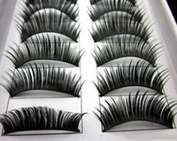 Wholesale Cosmetics hot deals three trees thick false eyelashes Pair