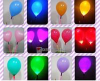Wholesale Luminous balloons new colorful LED balloons wedding bar supplies