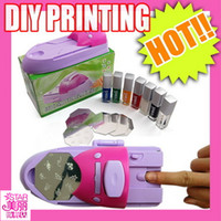 Wholesale Nail Art DIY Printing Machine Nail Art Printer Stamping Printer Set New Style Polish Image Plate