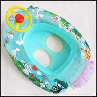 Wholesale baby swim ring boat Baby Kids Water Pool Swim Ring Seat Float Boat floating ring for boat YQ28