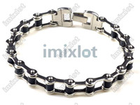 New Men's High Quality Stainless Steel Bracelet Silver Link ...