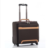 Wholesale 15 inch Pull Rod travel suitcase rolling with lock luggage travel luggage with Aviation aircraft J90