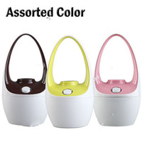 Wholesale USB Powered Mini Basket Shaped Ultrasonic Moisturing Air Humidifier Moist Anion Diffuser Assorted