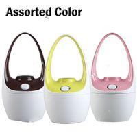 Wholesale USB Powered Mini Basket Shaped Ultrasonic Moisturing Air Humidifier Moist Anion Diffuser Assorted
