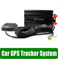 Wholesale Vehicle Car GPS Tracker TK103A Real time tracking Quad band