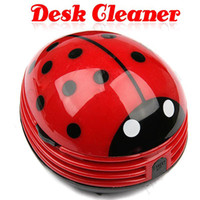 Wholesale Mini Ladybug Desktop Coffee Table Vacuum Cleaner Dust Collector for Home Office