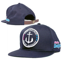 Wholesale Snapback Hats Snapbacks Hat Pink Dolphin Snap Backs Caps Snap Backs Hats Adjustable cap hats blue