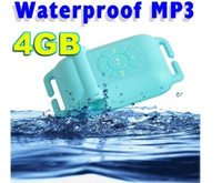 Wholesale NEW IPX8 waterproof MP3 player GB hot summer For Swimming Goggle Surfing Pool PC