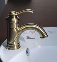 Wholesale Antique Basin faucet Brass Cold and Hot Sink Mixer Water Tap NY03011