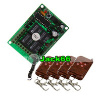 Wholesale Wireless CH Multifunctional Relay Module amp Four Button Universal Remote Control AK B1 DC12 C2 R00
