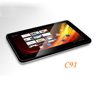 Wholesale 10inch zt C91 Android ZTPad Capacitive multi touch CortexA9 Skype WIFI Tablet PC