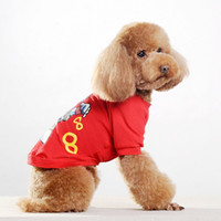 Stylish Pet Printing T- shirt with Cotton Material