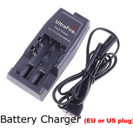 100pcs Universal charger UltraFire WF-139 Rapid Charger For 18650 3.7V Lithium Rechargeable Battery