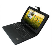 Wholesale Leather Case With Bluetooth Keyboard For Acer Iconia Tab A200 Tablet PC Leather Case