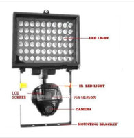 Wholesale Motion Activated Camera Security lights LED Video Camera PIR sensor for automatic Flood Light