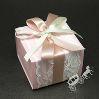 Wholesale candy box gift package ZYL F01 flat delivery wedding favors and gifts