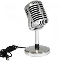 Wholesale High Quality New Vintage Microphone Classic Vocal Mic