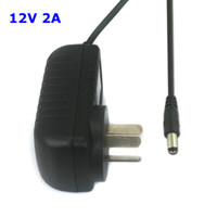 Wholesale AU Australia pin Plug AC100 V to DC V A mA Power Supply Adapter for CCTV Camera LED