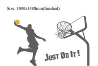 Wholesale 39x58 inch New Removable modern wall sticker stickers decal quot just do it quot
